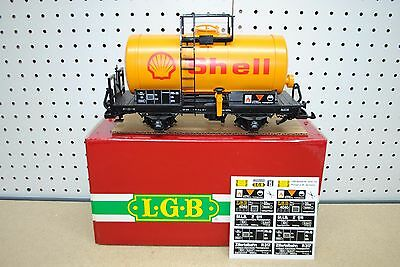 LGB 4040S Shell Two-Axle Tank Car *G-Scale* NEW