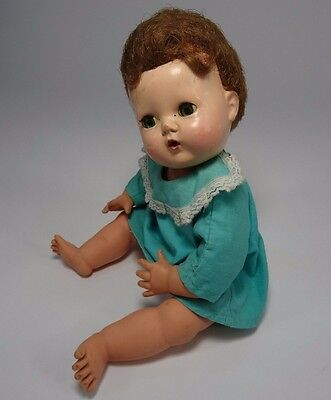 """Vintage American Character Tiny Tears Doll 12"""""""