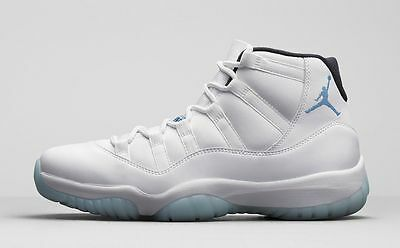 the latest 32b19 0de64 Nike Air Jordan 11 XI Retro Legend Blue Columbia size 14. 378037-117 1