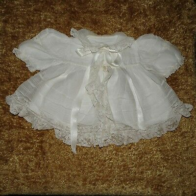 Rare Htf Lovely Antique Victorian Vintage Nieves J Antonio Madrid Baby Dress 55