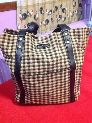 Longaberger Small Tote Bag