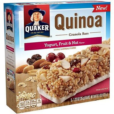 Quaker Quinoa Bar Fruit & Nut