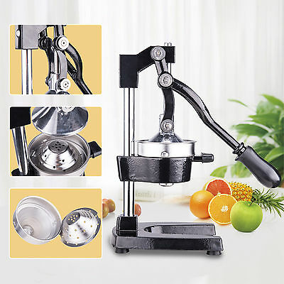 Commercial Bar Citrus Press Orange Lemon Fruit Manual Squeezer Juicer Heavy Duty