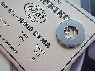 CYMA Watch MAINSPRING 6 3/4 - 10900 NOS Watches Movement Parts
