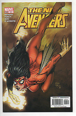 NEW AVENGERS #4  (2005)  1ST APPEARANCE of Shield Agent MARIA HILL , NM