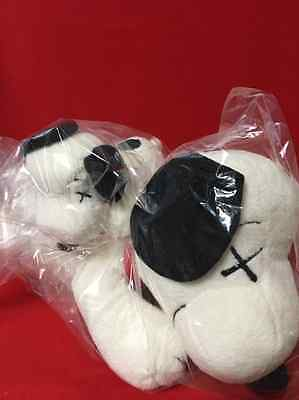 NEW RARE UNIQLO KAWS x PEANUTS SNOOPY Plush Small&Medium 2 set IN STOCK Japan