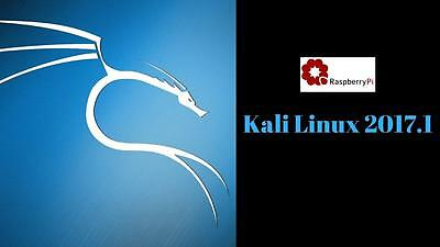 Kali Linux OS v2017.1 For The Rpi 1- 2- 3 - Zero Multi-Boot SD Card Image Disc