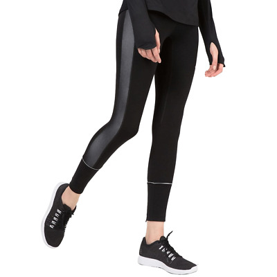 New New J.Lindeberg Womens Gabriella Compression Tights - Black - Activewear