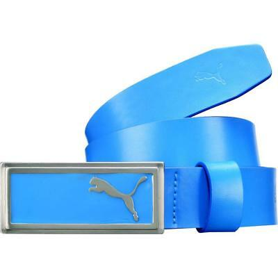 Puma Ladies Basic Enamel Fill Belt - Brilliant Blue