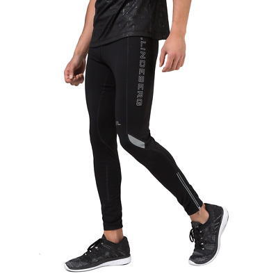 New New J.Lindeberg Running Comp Tights - Black - Activewear