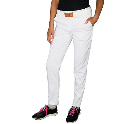 New Puma Womens Pounce Golf Pants - Bright White