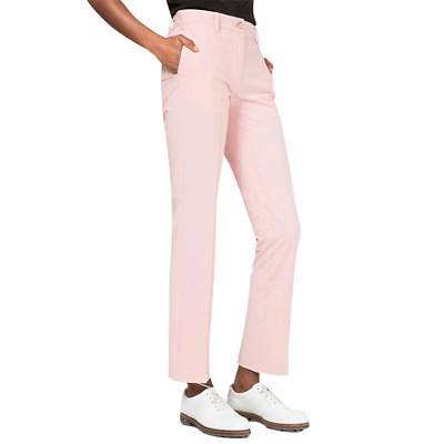 New J.Lindeberg Womens Kay Micro Stretch Pants - Lite Pink Dust