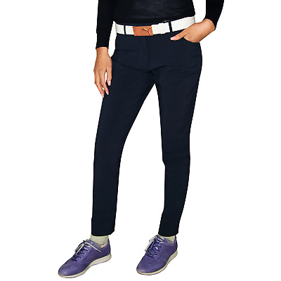 New J.Lindeberg Womens Jasmine Micro Stretch Golf Pants - Navy