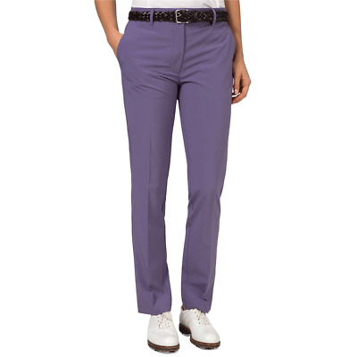 New J.Lindeberg Womens Kay Micro Stretch Pants - Purple Dust