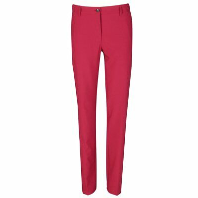 New J.Lindeberg Womens Kay Micro Stretch Pants - Dark Pink/Purple