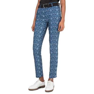 New J.Lindeberg Womens Jasmine Micro Stretch Pants - Navy Cell