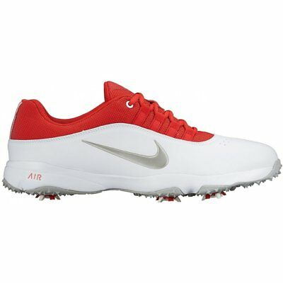 Nike Air Rival 4 Golf Shoes - White/Red