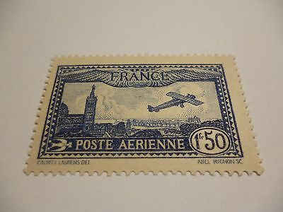 France Poste Aérienne N°6 Neuf ** LUXE TOP  QUALITE COTE 47€