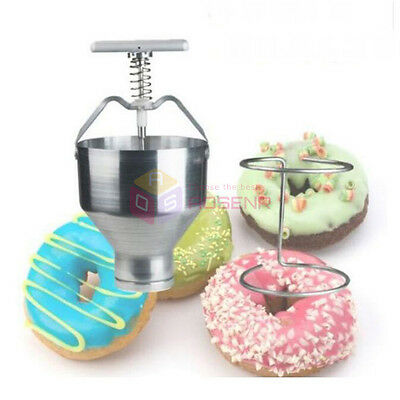 Commercial Home Use Manual Doughnut Donut Depositor Batter Dispenser Hopper
