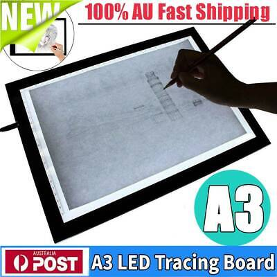 8mm A3 LED Light Box Tracing Board Art Design Stencil Drawing Pattern Copy Pad