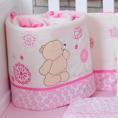 One Piece 185cm Length Baby Crib Cotton Bumper Soft Comfortable Baby Bed Bumper