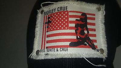 Motley Crue Hat Rock Concert Apparel Authetic Classic Rock Cap American Flag