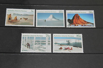 Aat 1984 Landscapes Series Set Of 5 Very Fine M/n/h  Cond