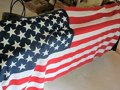 50 Star Usa  Flag Stiched Cotton