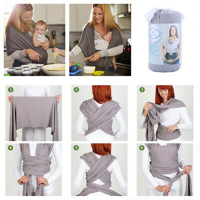 Baby Carrier Backpacks Sling Wrap Newborn Infant Sleeping Breastfeeding Belt