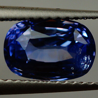 2.77 ct Certified 100% Unheated Untreated Natural Ceylon Blue Sapphire ( Video)