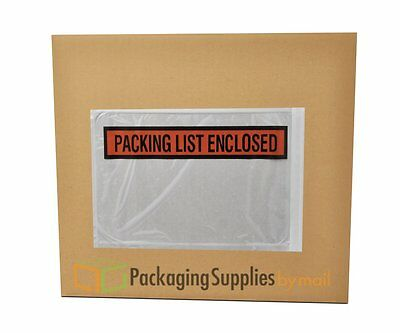 "Panel Face Packing List Envelopes PLE-PP510, "" Packing List Enclosed, 10"" Length"