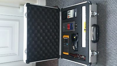 Digitron Monometer / Anemometer / Thermometer c/w Carry Case