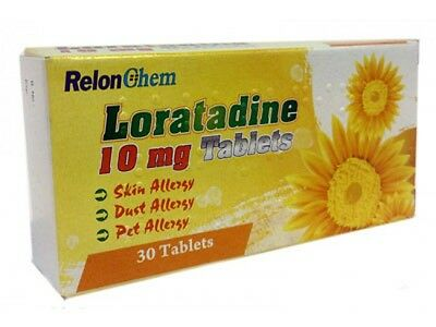 Loratadine Hayfever and Allergy Relief 10mg 6 Month Supply 180 Tablets