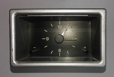 Genuine Volvo 480 dash analogue clock, backlit 12v Uhr