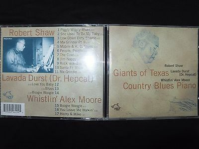 Cd Giants Of Texas Country Blues Piano /