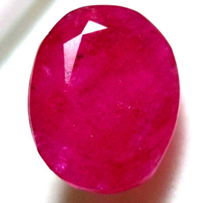 Natural Awesome 7.00 Ct Oval Shape GGL Certified Pink Beryl (Bixbite) Gemstone