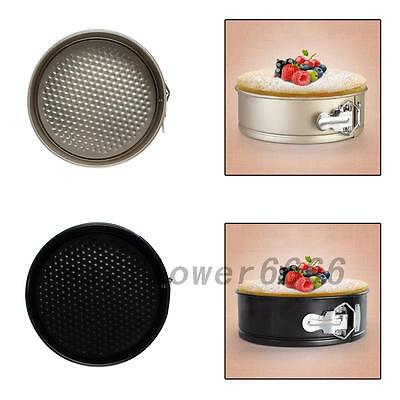 Home Kitchen 8 inch Non-stick Springform Cake Pan Bakeware Mould Tool Useful