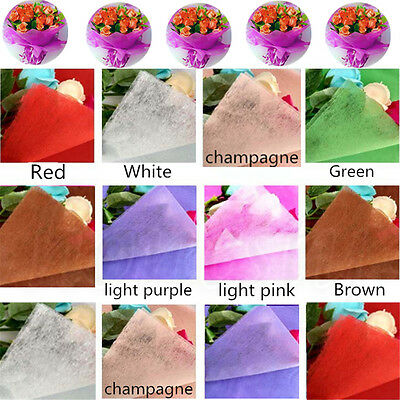5pc Acid Free Tissue Paper 50cmx50cm Gift Wrap Wrapping Flowers Crep Christmas
