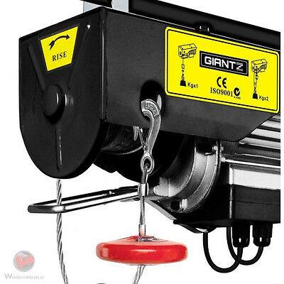 Giantz Electric Hoist Winch 800KG 1300W , 18m 7778726281