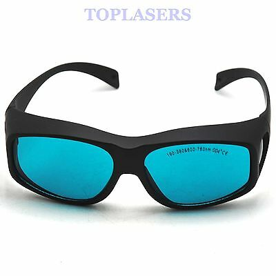 CE OD4+ 650nm Red Laser Protection Goggles 190-380nm & 600-760nm Safety Glasses