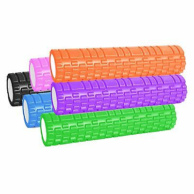 Grid Foam Roller Trigger Point Gym Sports Massage Physio Yoga Roller 61cm