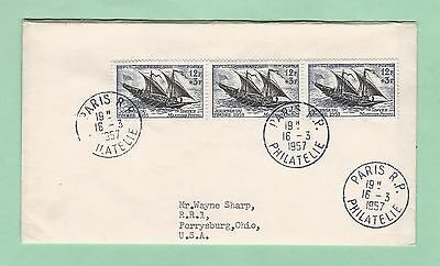 mjstampshobby 1957 France Very Nice Cover (Lot2422)