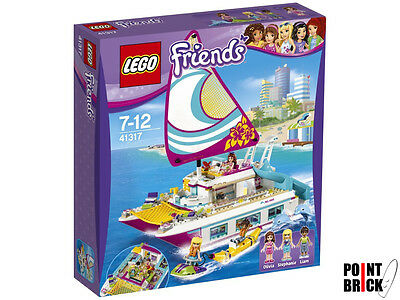 LEGO 41317 FRIENDS Il Catamarano - Barca a vela