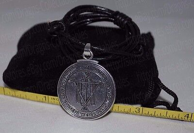 Talisman for Riches Seal Key of King Solomon Pendant Charm Necklace