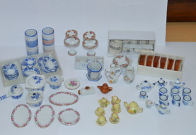 Large Joblot 12Th Scale Dollshouse China #1