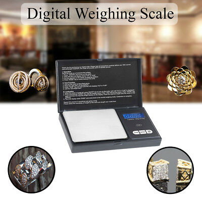 Digital Pocket Scales Milligram Mini Weighing Electronic Herbs Spices 100g 0.01g