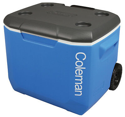 Coleman Performance 56L Tricolour Wheeled Cool Box