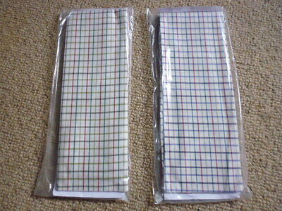 Racesafe Tattersall Cotton Hunting Stocks Self Tie Size Medium Various Colours