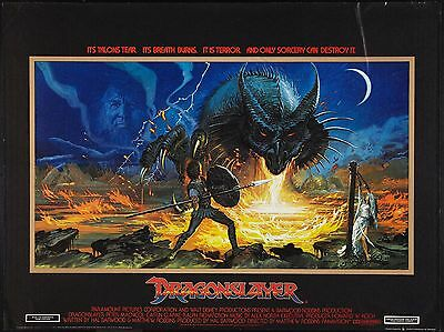 "Dragonslayer 16"" x 12"" Reproduction Movie Poster Photograph"
