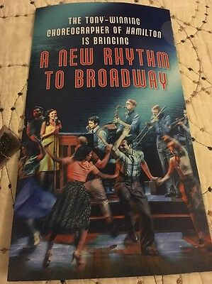 Bandstand Broadway Rare Direct Mail Ad Laura Osnes / Corey Cott
